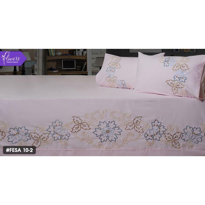 Bed Linen Set – 5 Pcs – Rose –  مصر
