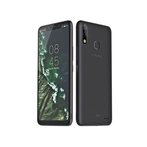X624B Hot 7 - 6.2-inch 32GB Dual SIM 4G Mobile Phone - Midnight Black