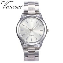 e647e8c1e9d82 Olivaren Vansvar Casual Quartz Stainless Steel Band Marble Strap Watch  Analog Wrist Watch