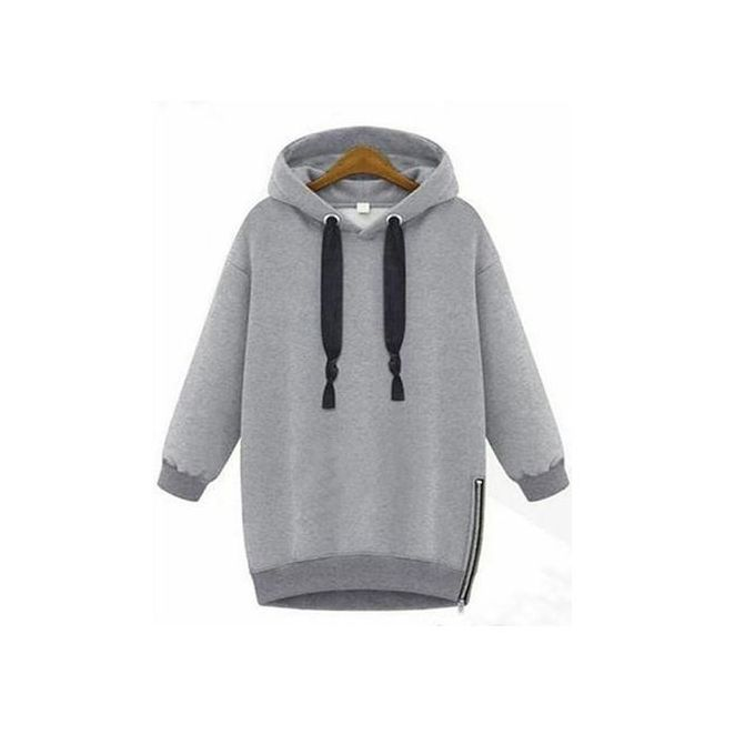 5d7f9210611 ZANZEA Spring ZANZEA Women Long Sleeve Hooded Loose Casual Loose Hoodies  Sweatshirt Plus Size Outwear Oversized