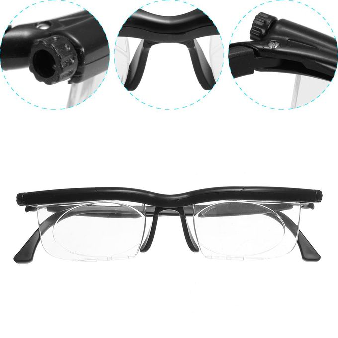 6c8f33a48 Order 2017 New! Adjustable HD Dial Eye Glasses Vision Reader Glasses ...