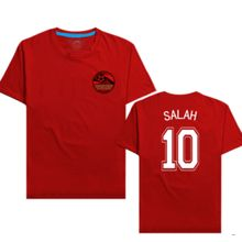 acd89bf22 Africa Cup Egypt New Men  039 S Salah Logo Cotton T-shirt(