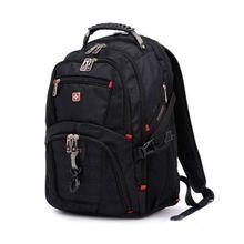 6504ea98e234 TA-Waterproof Travel Bag 15-Inch Laptop Backpack Computer Notebook School Bag  Black