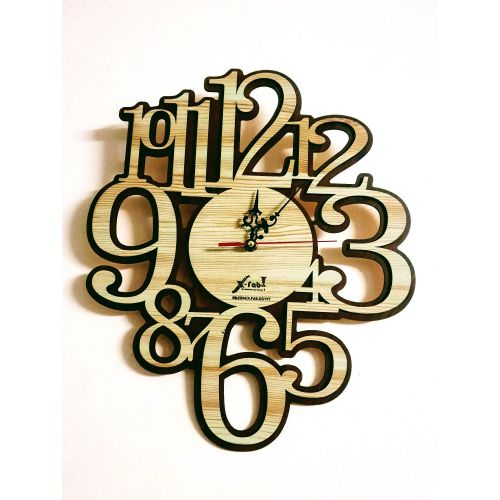 badcf2e40 عرض عيد ميلاد جوميا! تسوق ساعة حائط مودرن أرقام كبيرة - من X-fab ...
