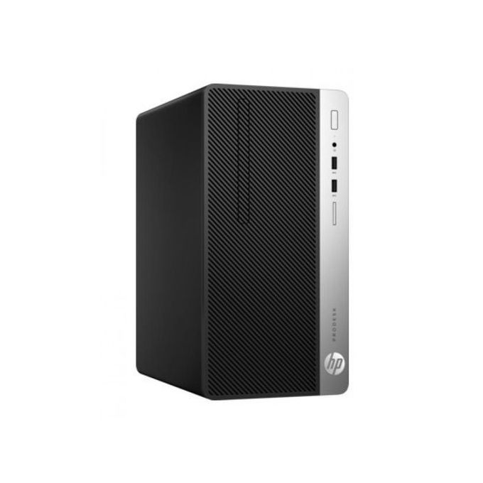 ProDesk 400 G4 Micro Tower PC - Intel Core i7 - 500GB HDD - 4GB RAM - Eng-Ar Keyboard - DOS - Black