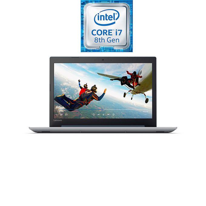 لاب توب IdeaPad 320-15IKBRA - إنتل كور i7 - رام 8 جيجا بايت - هارد ديسك درايف 2 تيرا بايت - شاشة عالية الجودة 15.6 بوصة - معالج رسومات 2 جيجا بايت - DOS - أزرق