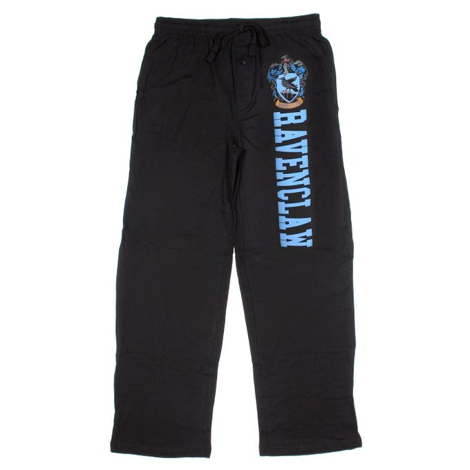 Harry Potter Ravenclaw Guys Pajama Pants [Black, XX-Large]