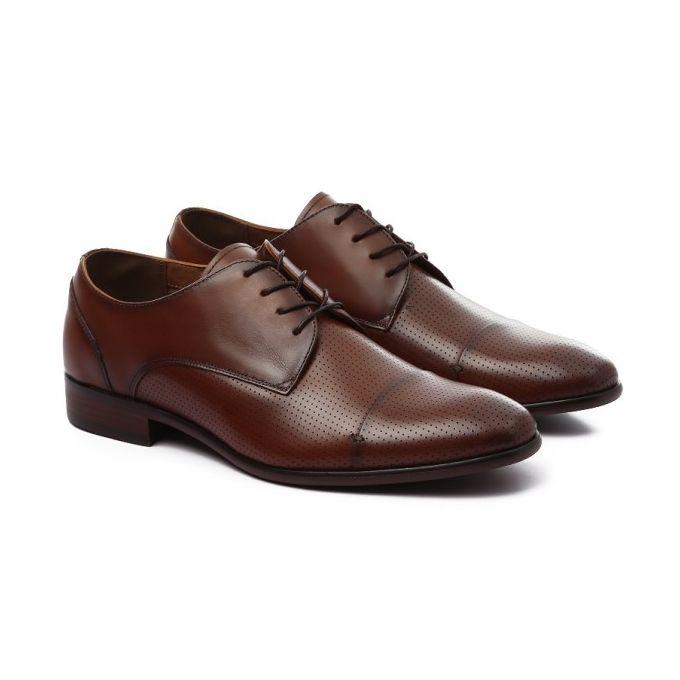 b3045b826ed3 Sale on Classy Wing Up Leather Havana Men Shoes