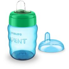 Easy Sip Spout Cup - 260 Ml - Blue/Green