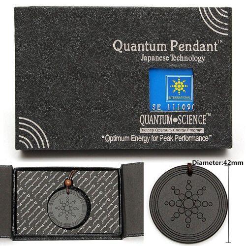 1Pcs Quantum Pendant Necklace Scalar Orgon Energy Neg Ions EMF Protection  Set