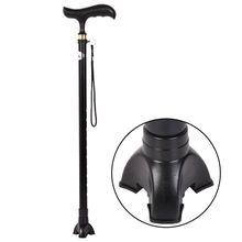 Crutch Canes Leg Rubber Self Standing Walking Stick Tripod Tip End Cap Non-slip NEW