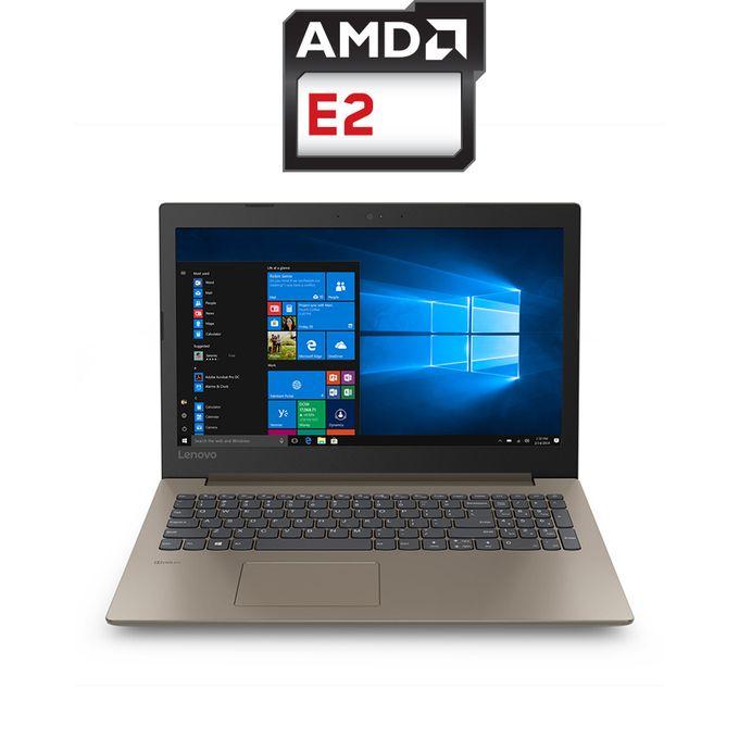 IdeaPad 330-15AST لاب توب - AMD E2 - رام 4 جيجا - هارد HDD 1 تيرا - شاشة HD 15.6 بوصة - رسومات AMD - DOS - بني