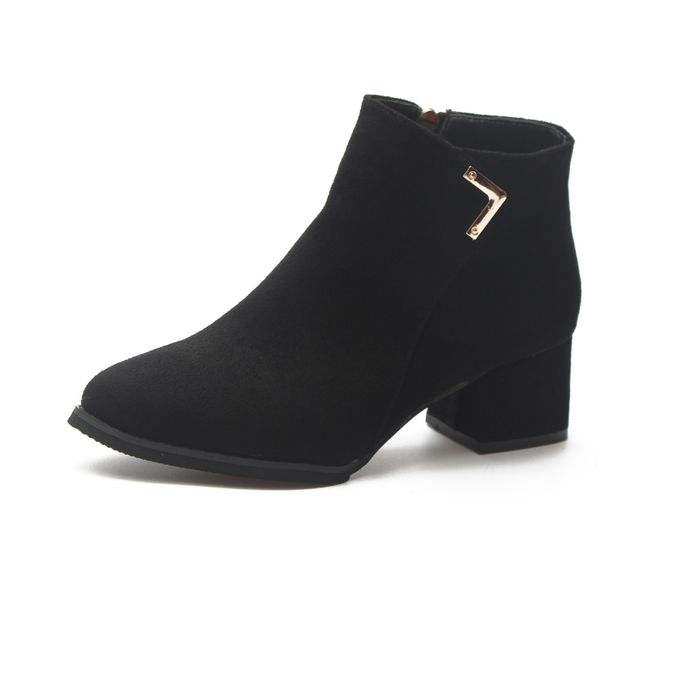 db2ffce052 Sale on Stylish Women Thick Heel Short Martin Boots | Jumia Egypt