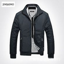 3c0a58b3243 Plus Size Men  039 s Jacket Coat Slim Fit Stand Collar Winter Long Sleeve