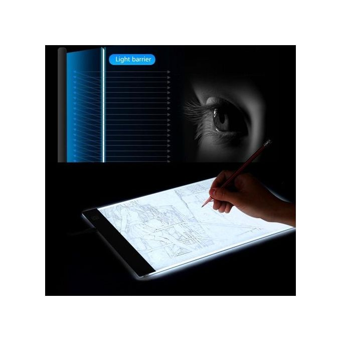 Painting Supplies Art Sets A4 Led Art Stencil Board Light Pad Tracing Drawing Table Board For Kids Artists With Cable
