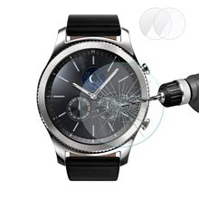 2 Packs Enkay 2.5D Tempered Glass Screen Protector For Samsung Galaxy Gear S3 Frontier/