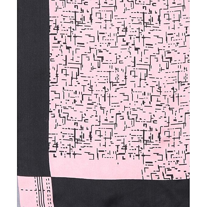 tie shop casual square veil black