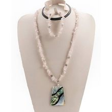Costume Jewellery The Cheapest Price High Quality Handmade Multicolor Necklace Set Sj630