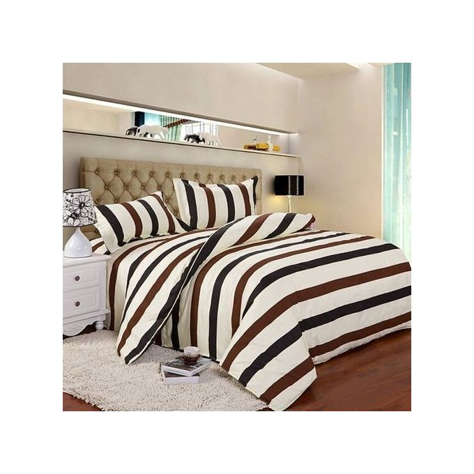 King Size Quilt Bedding Bedclothes Duvet Cover Pillow Case Set –  مصر