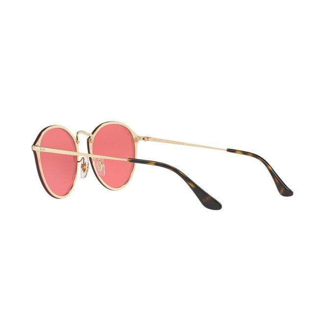 21f843b227 Sale on Ray-Ban Blaze Round RB 3574N 001 E4 Gold Pink Mirror