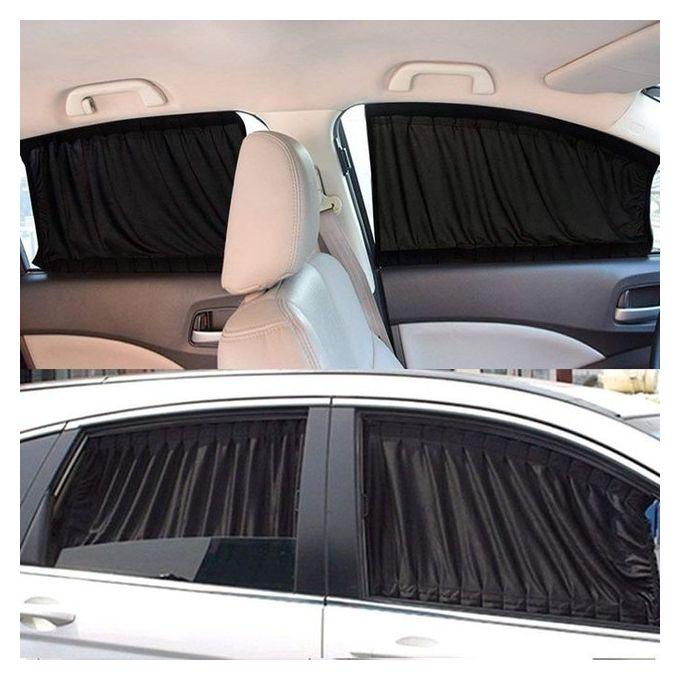 VIP Mesh Interlock Car Window Shade 4 Pieces - 50cm For 4 Door