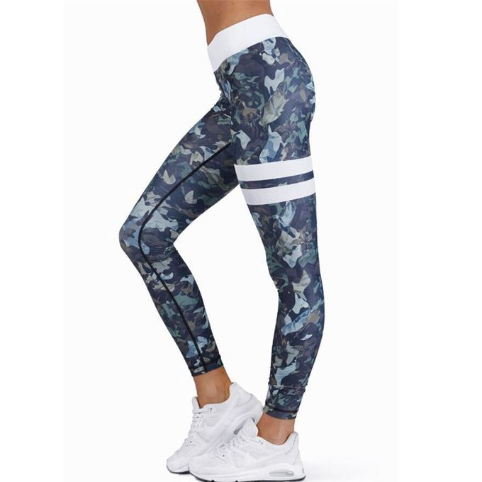 01efaf0d80a9d Tectores Women High Waist Sports Gym Yoga Running Fitness Leggings Pants  Athletic Trouser Gift