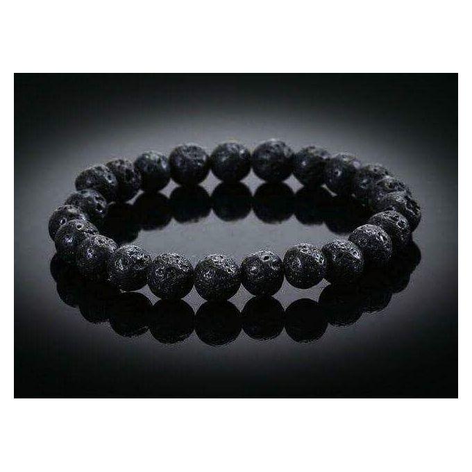 a5085cafc41b1 Sale on Lava Stone Bracelet Black