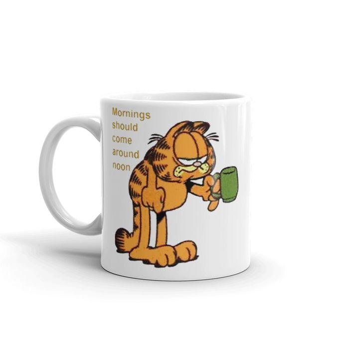 Garfield – مج ابيض –  300 ملم –  مصر