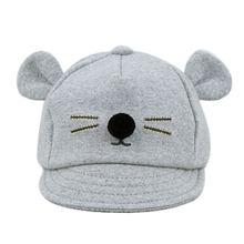 de116cb525ef1 Baby Bunny Rabbit Visor Baseball Cap Cotton Peaked Hat GY For Baby