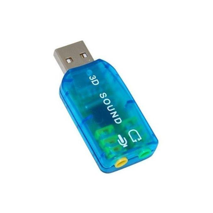 Usb 5 1 Stereo Sound Card Adaptor - Windows 7 Compatible