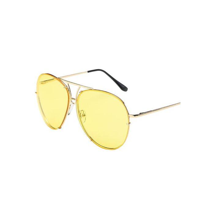 1aba5daed8 Fashion Women Man Oversized Aviator Sunglasses Flat Top Big Large Luxury  Mirrored