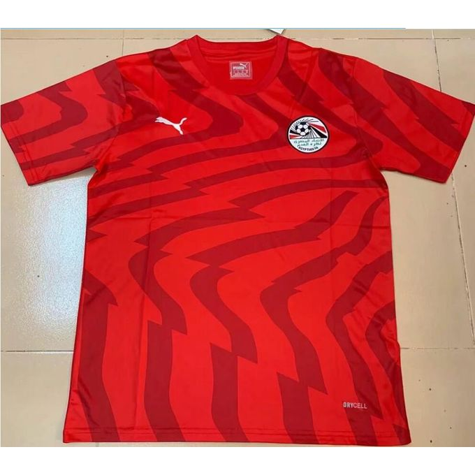timeless design 55ed7 3c246 2019 Africa Cup Egypt Football National Team Jerseys - Home Game