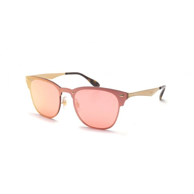 5702ec3da7 ... Ray Ban RB 3576 N Blaze Clubmaster 043 E4 BRUSHED GOLD Sunglasses ...
