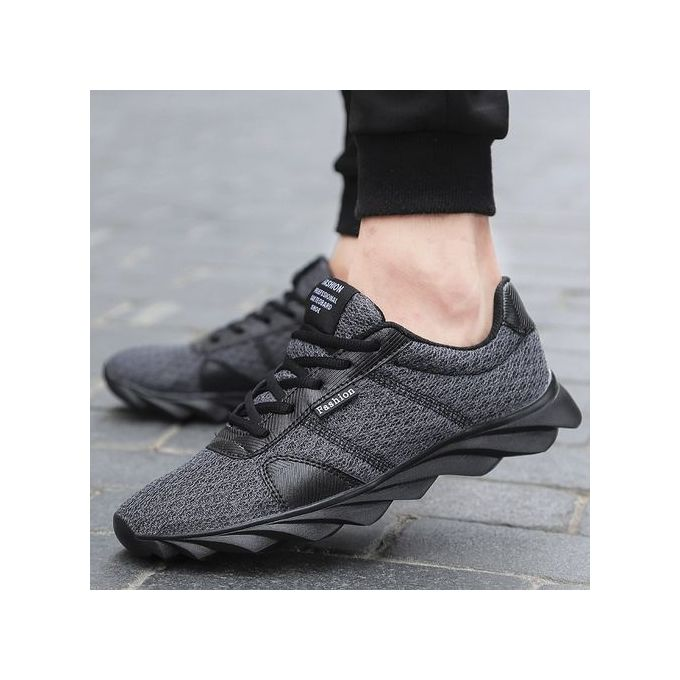 3f11ce76b5af Men Running Shoes Sport Big Size Shoes Sneakers Men s Breathable Casual  Athletic Trainers