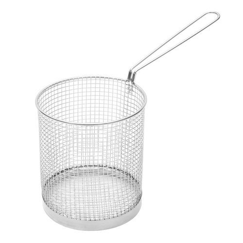 6''x6'' Round Frying Wire Net Basket Strainer French Fries Deep Fryer Fried Food