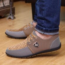 44f82bf03 Fashion New Mens Suede Slip On Driving Moccasin Loafer Breathable Casual  Shoes Brown