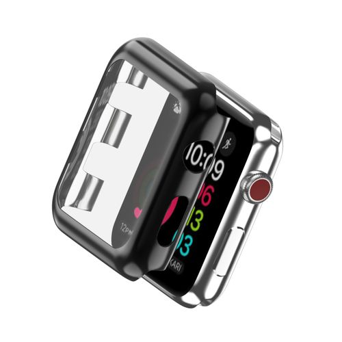 official photos 150f0 15ed2 PC Watch Protective Case Slim Cover For Apple Watch Series 2 3 38mm 42mm  For Apple Watch Case Full Screen Protector