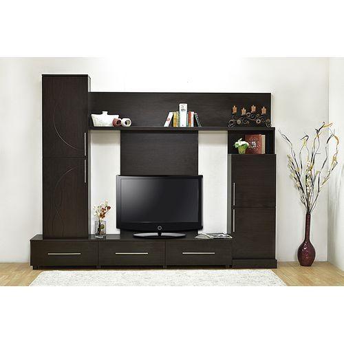 Sale on HC Furniture HC- Smart TV Unit - Dark Brown | Jumia Egypt