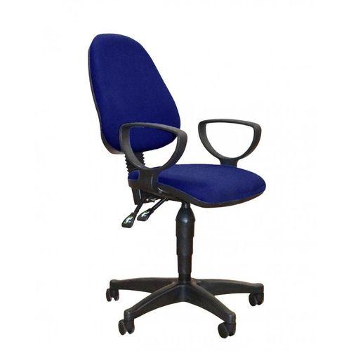 Secretary Office Chair -Dark Blue