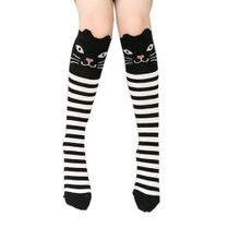 b461fe159 Children Kids Girl Animal Pattern Knee High Hosiery Socks Cute Hosiery Socks  WH