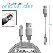IPhone Cable - Certified - Lightning To USB Charging ...