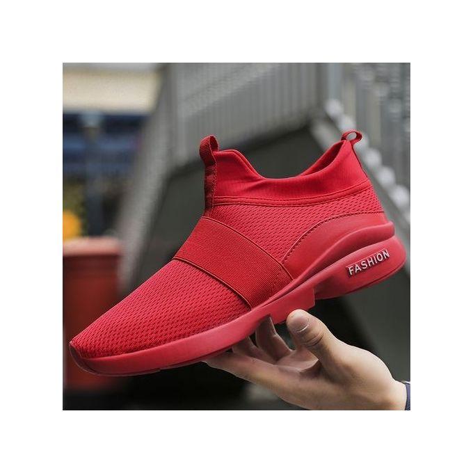 42136fa4b509 Sale on Men Sneakers Weaving Casual Sports Shoes Slip-on Plus Big ...