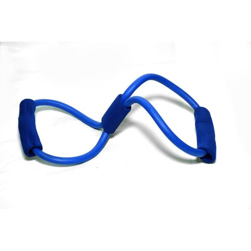 Generic Resistance Bands Tube Workout Exercise For Yoga Blue