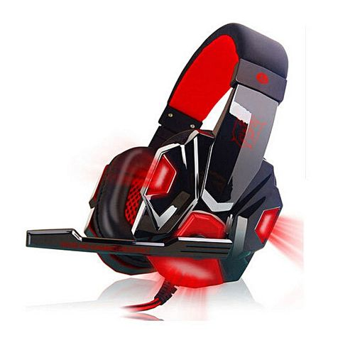 Sale On Casque Audio Pc Gaming Headphone With Mic Stereo Bassblack