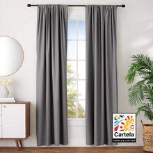 Curtain Blackout Gray