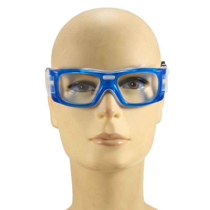 29ed784d9ae ... Basketball Soccer Football Sports Glasses Protective Eyewear Bike Eye  Goggles Em Blue