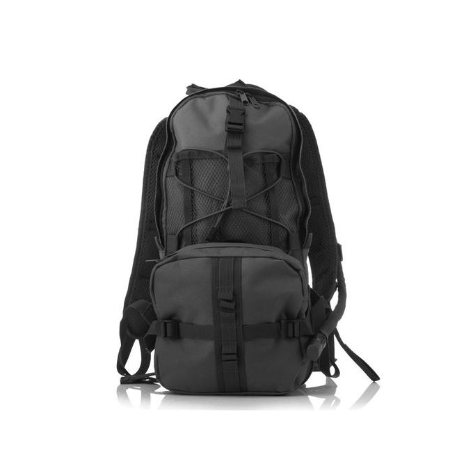 3ecd6361a735b Fashion Camouflage Hydration Pack Multifunction Package Mountaineering Bags  Military Tacticas Backpack Travel Rucksack -black