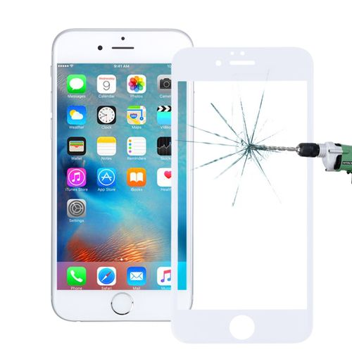 0 26mm 9h Surface Hardness 3d Explosion-proof Tempered Glass Screen Film  For Iphone 6 Plus And 6s Plus(white)