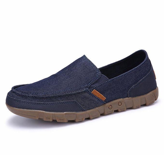 980720501a5ec أحذية رجالية عادية قماش أحذية الموضة الانزلاق على - Jumia مصر