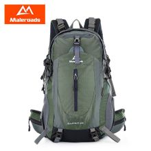 faca32a3c295c Leadsmart Maleroads 40L Outdoor Sports Backpack Hiking Camping Water  Resistant Nylon Travel Luggage Bike Rucksack Bag